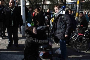 Photo: He said, she said: foul-mouthed foreigner in Beijing culpable or conned?