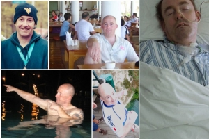 Photo: Help: Family raising funds for China expat in coma