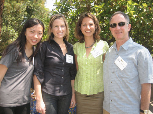 Wokai Team: Wokai intern Amy Shi, Dir. US Ops Courtney McColgan, CEO Casey Wilson, and Wokai Advisor Tom Gold