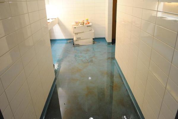 这不是sb会的厕所 是游泳池的消毒池