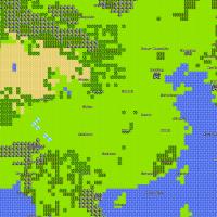 8-bit China Map