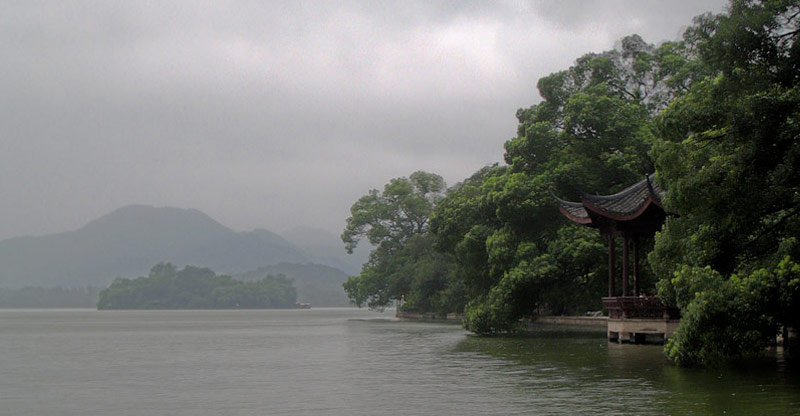 Hangzhou's West Lake. Photo by Ryan McLaughlin