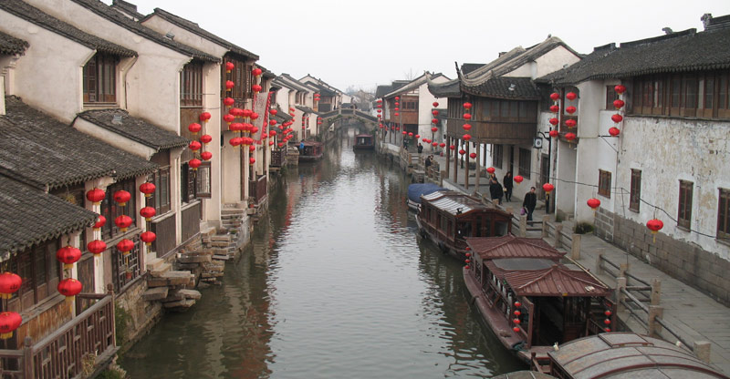 Shantang Jie, Suzhou. Photo by Ryan McLaughlin
