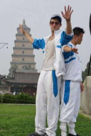 Matt Sheehan and Matt Allen in We Livin in Xi'an