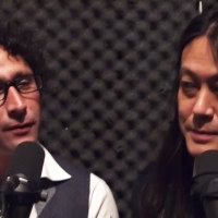 Sinica's Jeremy Goldkorn and Kaiser Kuo in the studio