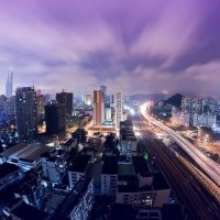Guangzhou at Night. Photo by Ian Wallace.