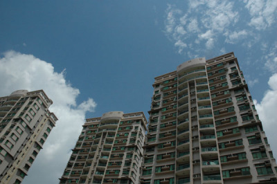 New World Garden apartments located in Dongguan's Dongcheng District. source