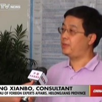 Photo: CCTV asks if 'expats unqualified for language teaching in China?'