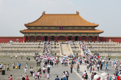 Forbidden City Crowds. By Ryan McLaughlin