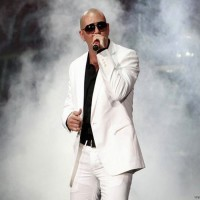Pitbull performs at the 2008 Wango Tango concert in Irvine
