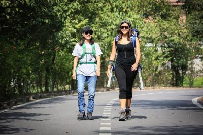 Ann (left) and Darrah