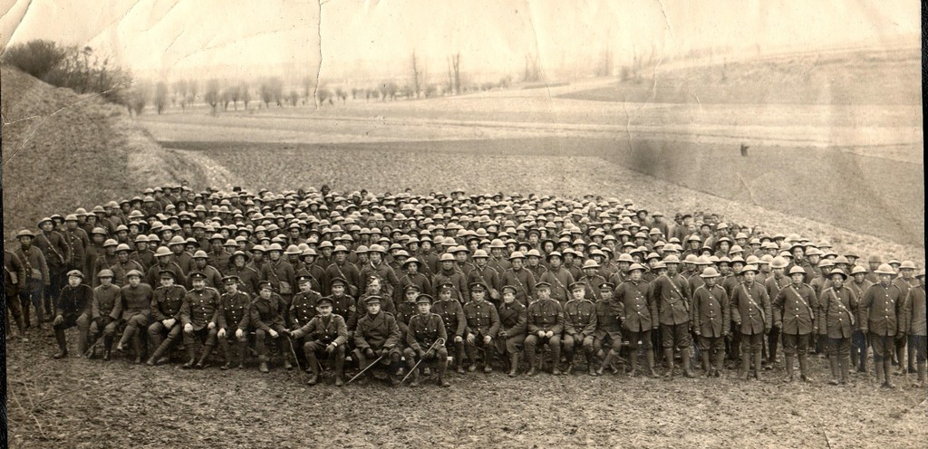 52nd Company Chinese Labour Corps 1917 Credit: Jones Family / Jean Zamin